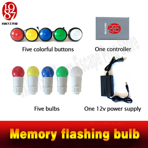 Image 5 - 実生活部屋脱出小道具メモリ点滅電球メモリボタン blubs からエスケープパズル JXKJ1987 冒険ゲーム