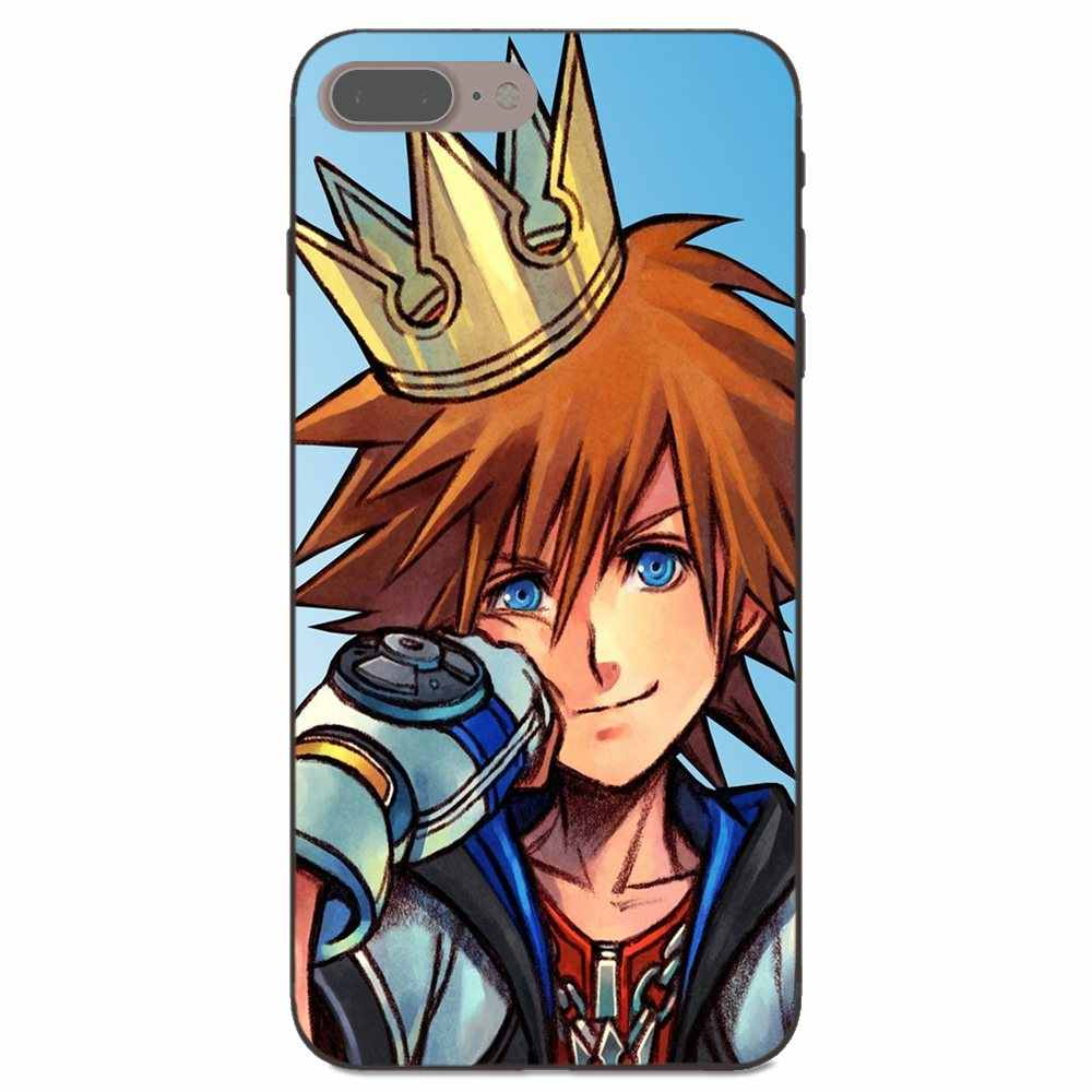 Аниме «Kingdom Hearts» шаблон для Galaxy A3 A5 A6 A6s A7 A8 A9 J1 мини J2 J5 J6 + J7 Core ЗВЕЗДА Duo Max 2017 2018 задняя крышка чехол для телефона