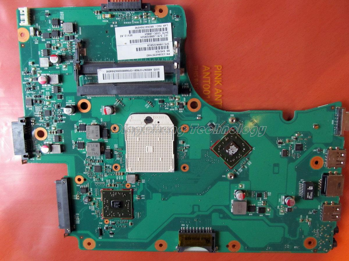SHELI laptop Motherboard For Toshiba Satellite C650D C655D V000225010 6050A2357401-MB-A02 DDR3 integrated graphics card