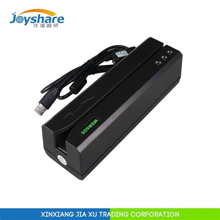 MSR605 USB lecteur de carte écrivain compatible msr606 pour MSR605X MSR X6 MSRX6 bluetooth Minidx lecteur de carte