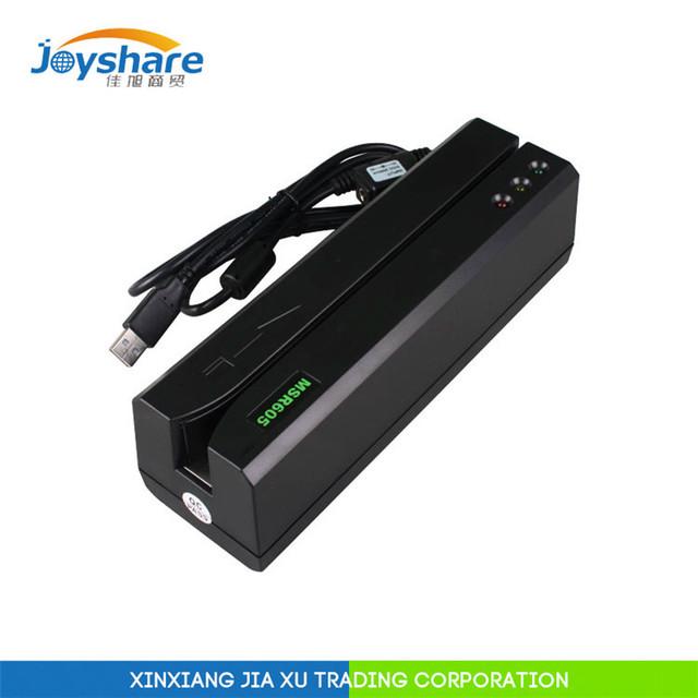 Msr605 usb leitor de cartão de msr escritor msr606 msr609 msr605x compatiable msrx6