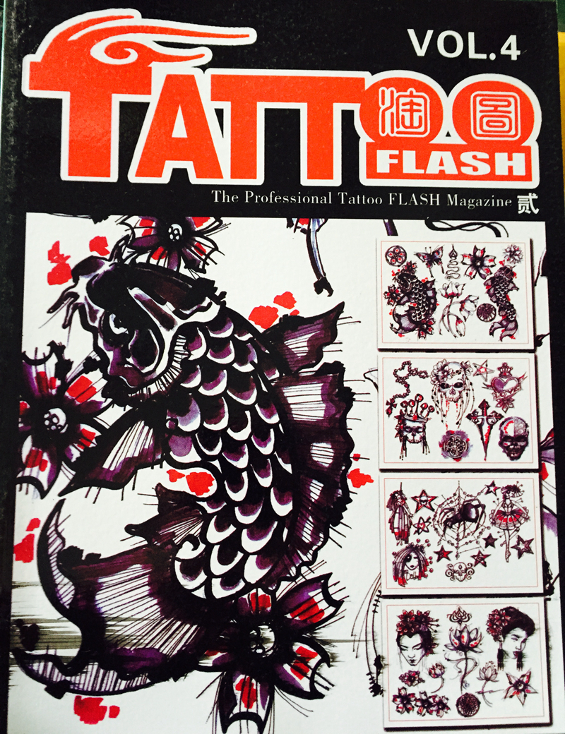 professional tattoo flash magazine book a4 40 page sketch tattoo design book supply for tattoo. Black Bedroom Furniture Sets. Home Design Ideas