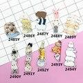 Min Encomendar $5 (Ordem Da Mistura) Anime badges Acrílico HARAJUKU Crachá Gêmeos Dos Desenhos Animados dos desenhos animados criativo Dicas Colarinho broche broches XZ161