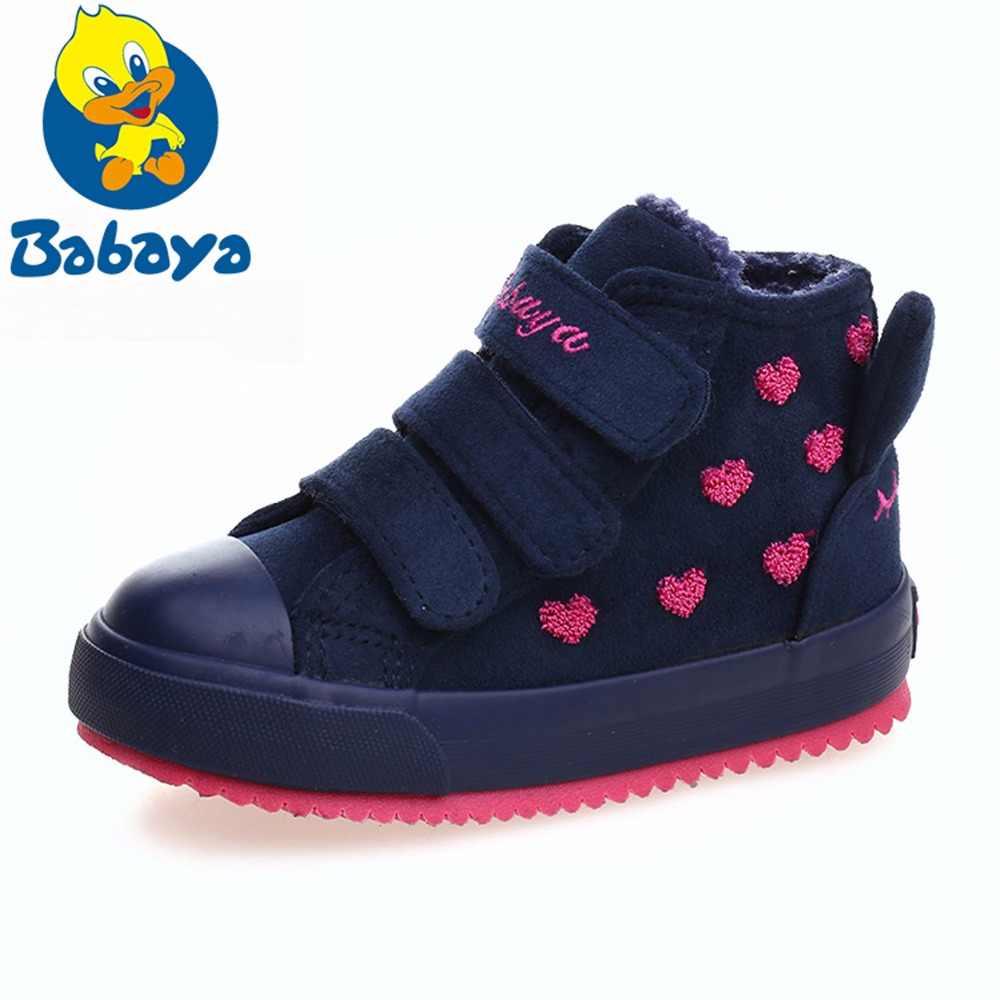 Зимние резиновые сапоги для девочек; Новинка; 4 цвета; модная теплая детская обувь; обувь из флока для девочек; Плюшевые кроссовки на плоской платформе; детские ботинки