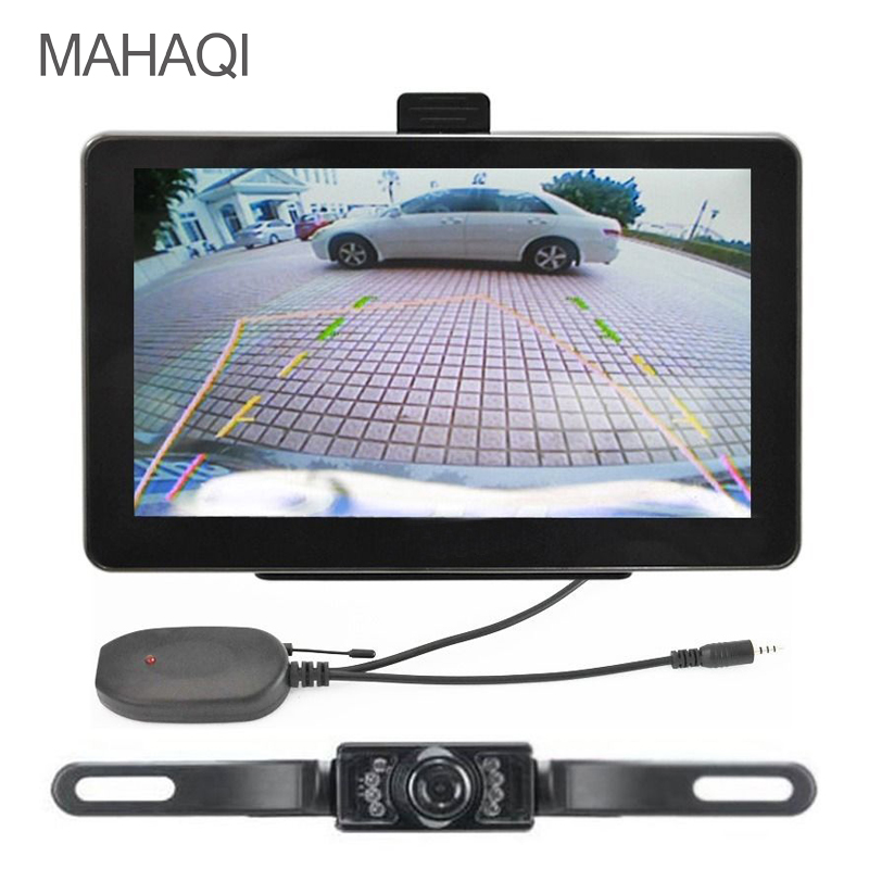 MAHAQI 7 inch HD Car GPS Navigation Bluetooth AVIN Capacitive screen FM 4GB/128MB Vehicle Truck GPS Europe Sat nav Lifetime Map aw715 7 0 inch resistive screen mt3351 128mb 4gb car gps navigation fm ebook multimedia bluetooth av europe map