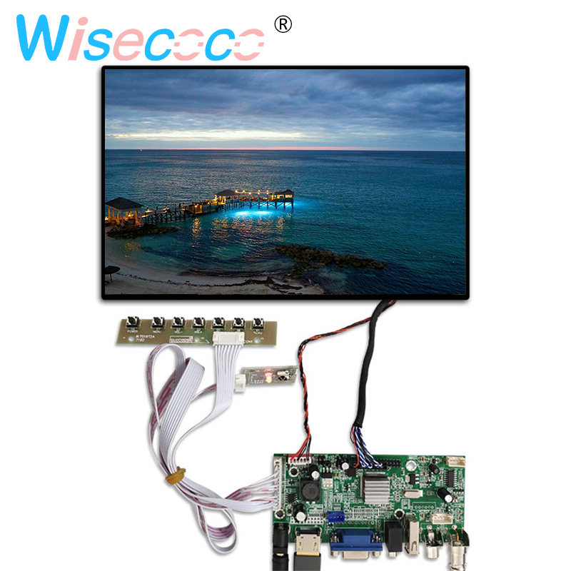 10.1 Inch 1280x800 LCD Screen Display N101ICG-L21 With HDMI VGA Lvds Controller Driver Board For Raspberry Pi