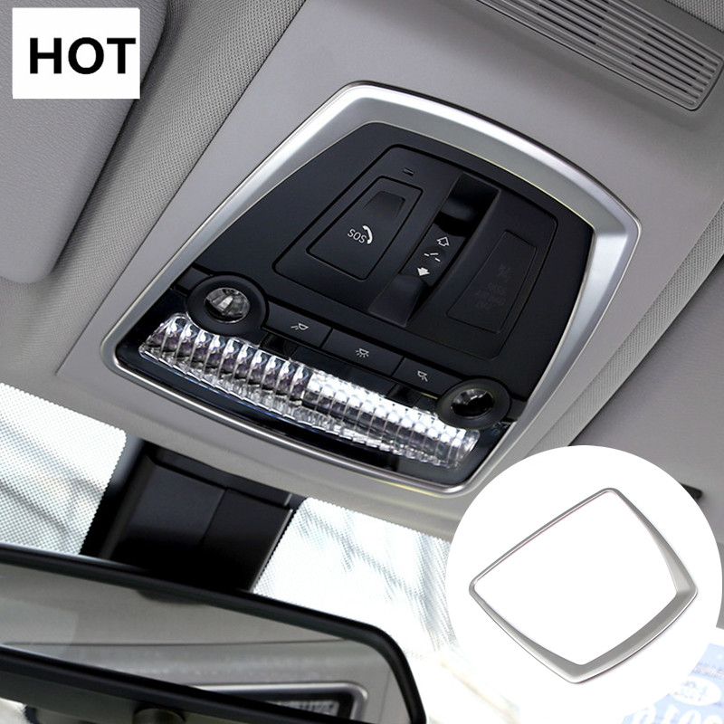 Inner Front Reading Light Lamp Cover Trim For BMW X3 F25