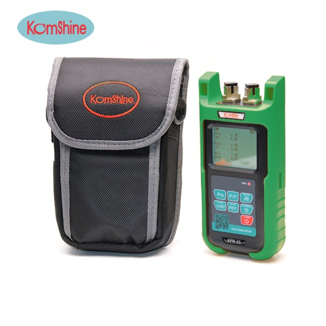 Smallest, Lightest and Fastest KOMSHINE KPN-35 PON power meter with SC UPC connector similar to JDSU optical power meter