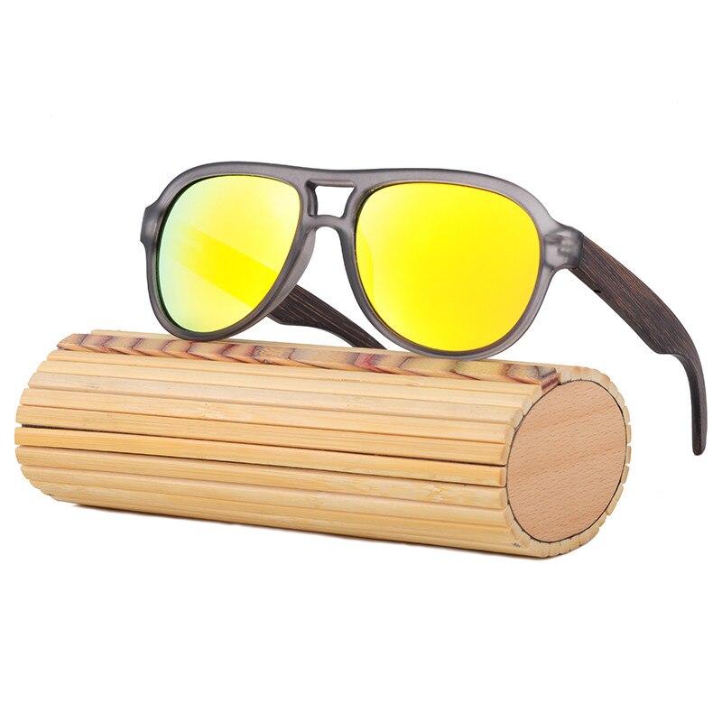 2017 font b Handmade b font Original Bamboo Sunglasses Women UV400 Polarized Brand Designer Sport Wood