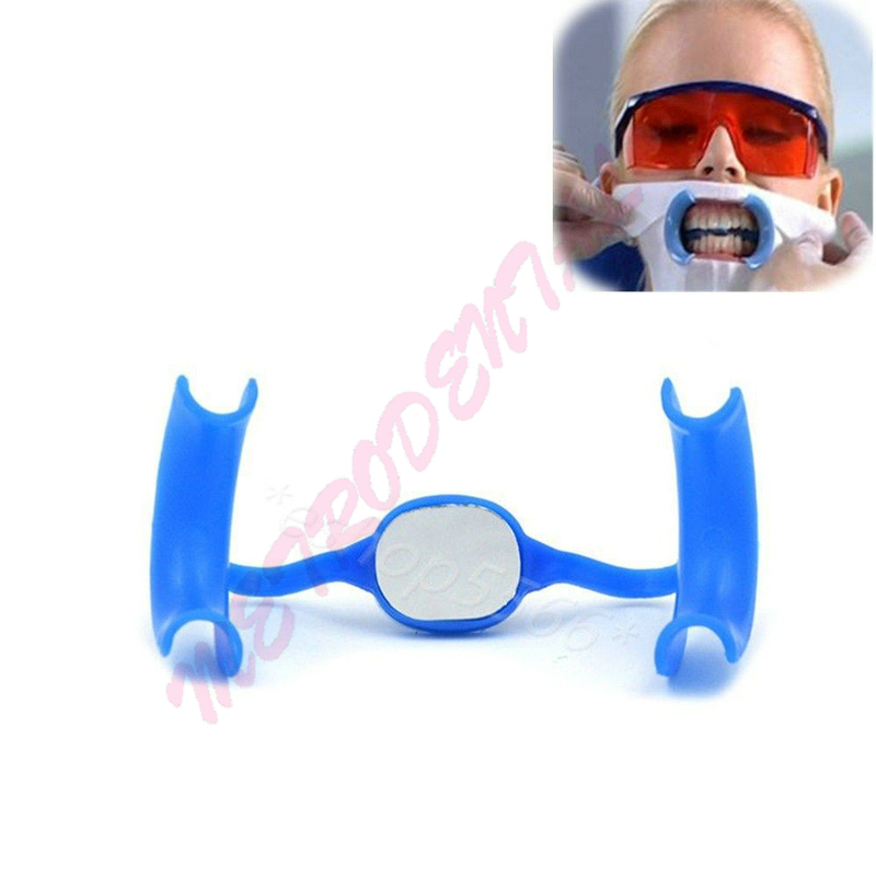 10pcs High Quality Dental Opener Oral  cheek retractor  Mouth Opener M shape with Mirror
