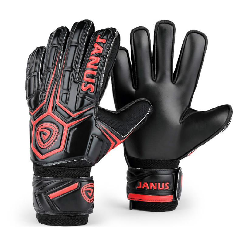 cc13fd68d4d Professional High Quality Soccer Goalkeeper Gloves Football Goalie Gloves  Goal keeper Gloves Finger Protection Thickened Latex-in Goalie Gloves from  Sports ...