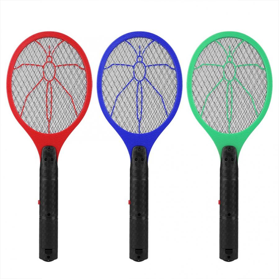 Image 5 - Summer Hot Cordless Battery Power Electric mug killer Fly Mosquito Swatter Bug Zapper Racket Insects Killer Home Bug Zappers 46-in Bug Zappers from Home & Garden