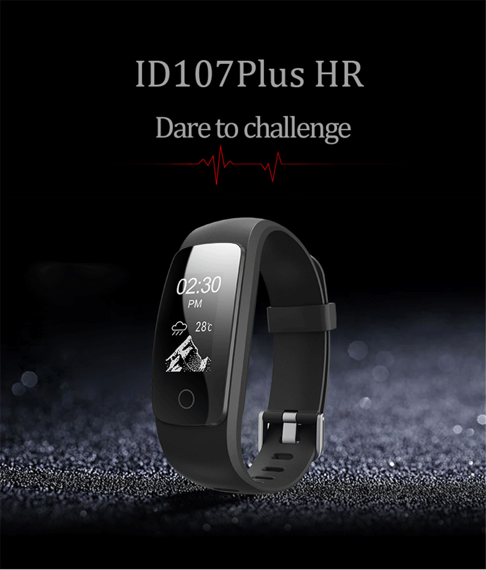 Teamyo ID107 Plus Sport Smart Band Heart Rate Monitor Smart Watch Guided Breathing Fitness Tracker Smart Bracelet Remote Camera 2