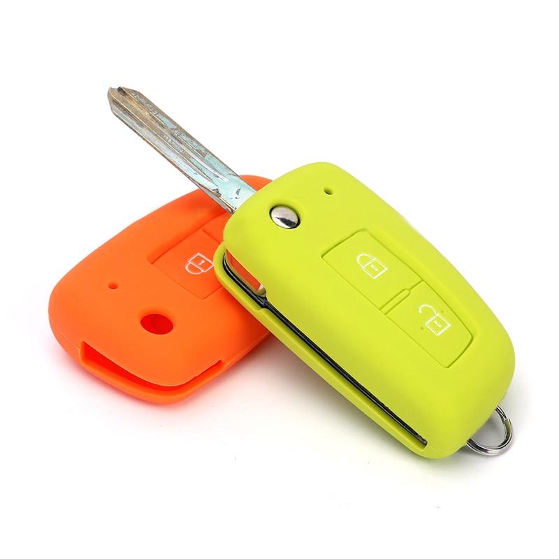 Car Key Cover Case Silicone Shell For Nissan X-Trail T32 Juke F15 Qashqai J11 Micra Pulsar