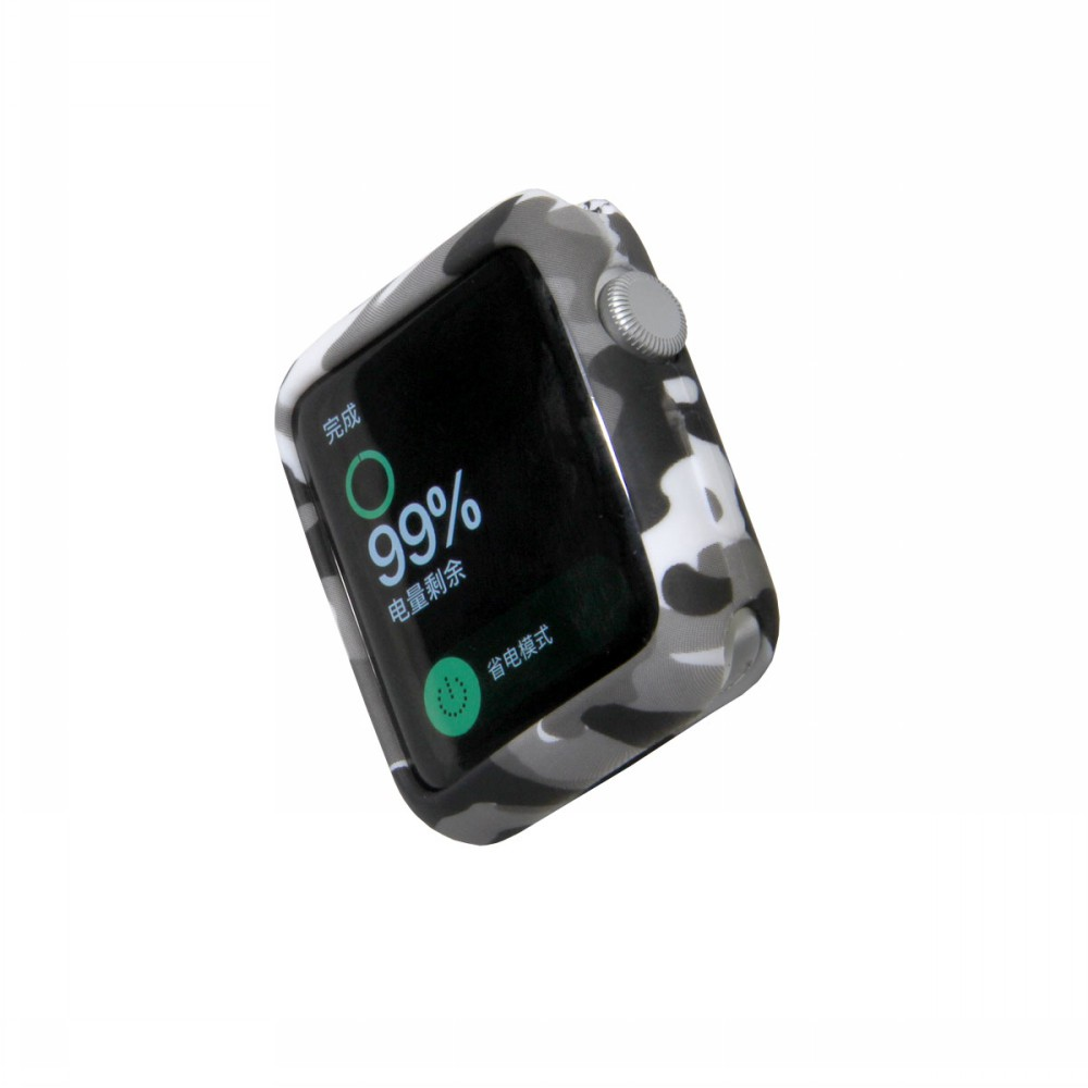Camouflage Soft Case for Apple Watch 58