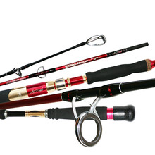 цена на 99% Carbon Slow Jigging Fishing Rod 1.8m Lure Weight 150-350g Ocean Rod Max Drag 15kg For Carbon Boat Fishing Rod