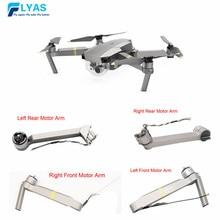 Pièce dorigine DJI Mavic pro Platinum bras de moteur avant gauche/droite arrière gauche/droite bras de jambe arrière pour remplacement de pièces de Drone