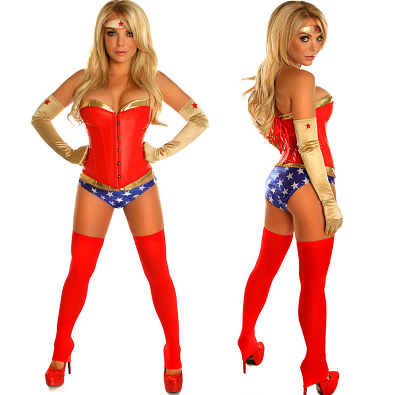Sexy Wonder Woman Costumes For Women