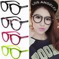 Setas Neon cor sólida hop na moda à moda dos homens das mulheres do vintage retro rodada óculos de armação armações de Óculos