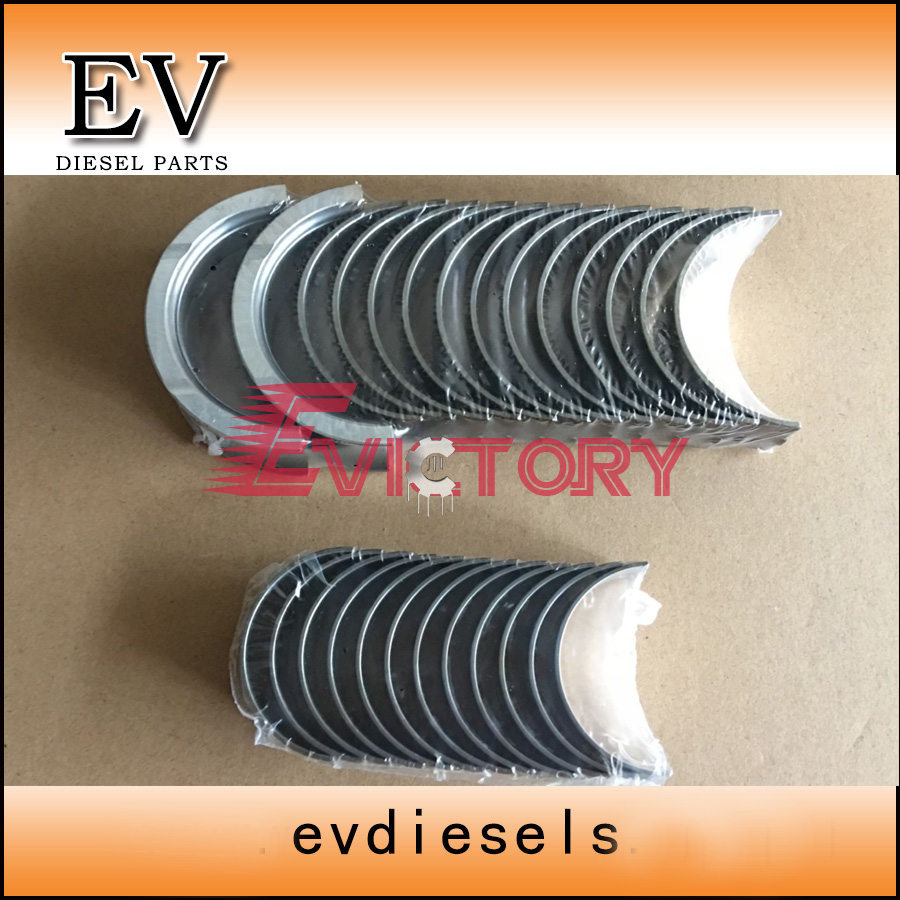 TB45 TB45 crankshaft/main bearing and con rod bearing for Nissan Patrol Y60 Y61 the crankshaft with set of main bearing rod bearing and thrust ring for yangdong ynd485q ynd485t part number