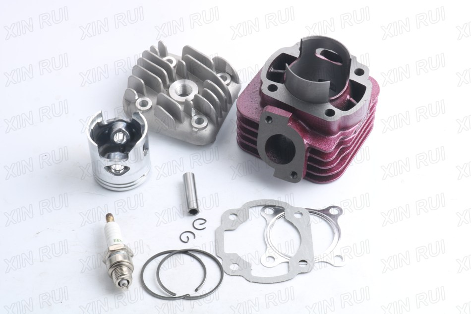 Big Bore Cylinder Kit+E6TC spark plug for Yamaha JOG Vino NEOs Minarell 1E40QMB CY/YJ50 - 47mm/10mm 68cc стоимость