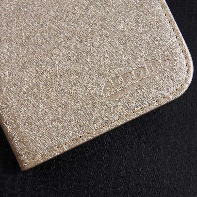 Para Vernee X X1 negocios teléfono caso de cartera de cuero cubierta protectora con ranura para tarjeta