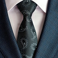 Fashion Gentleman New Polyester Silk High Quality Ties for Men Office Adult  Paisley Tie Hombre Slim Business