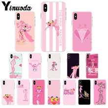 цена на Yinuoda Pink Partner Colorful Cute Phone Accessories Case for iPhone 6S 6plus 7 7plus 8 8Plus X Xs MAX 5 5S XR