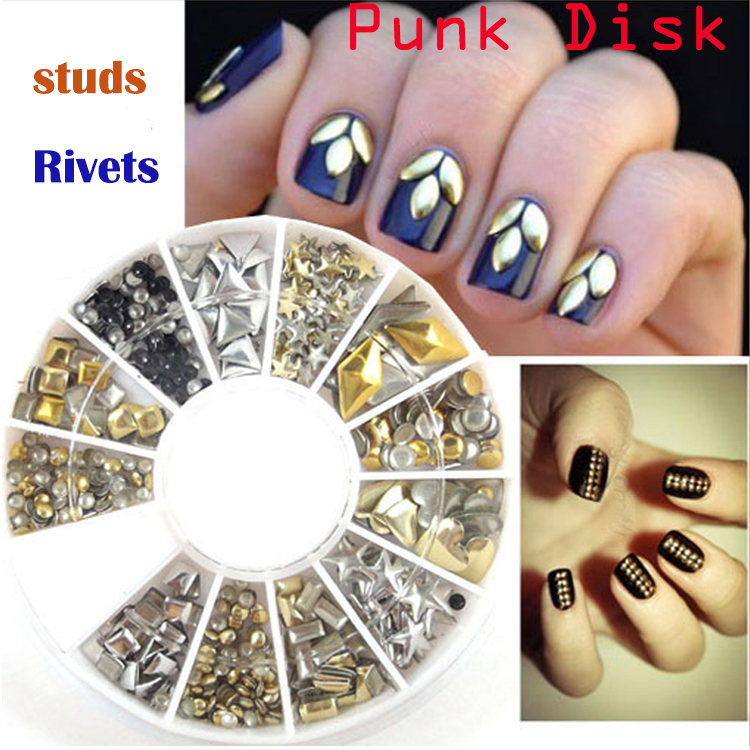 2017 new punk golden studs silver rivets nail art tips rhinestones 2017 new punk golden studs silver rivets nail art tips rhinestones 3d nail art decoration nail beauty christmas xmas gift sale in underwear from mother prinsesfo Images
