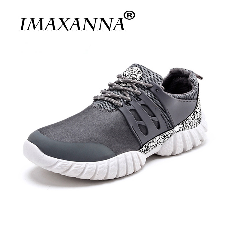 IMAXANNA Brand Sports Running man sneakers  Mesh Breathable Male Shoes Lace Up Sneakers Mens Gym Shoes adult male tennisIMAXANNA Brand Sports Running man sneakers  Mesh Breathable Male Shoes Lace Up Sneakers Mens Gym Shoes adult male tennis