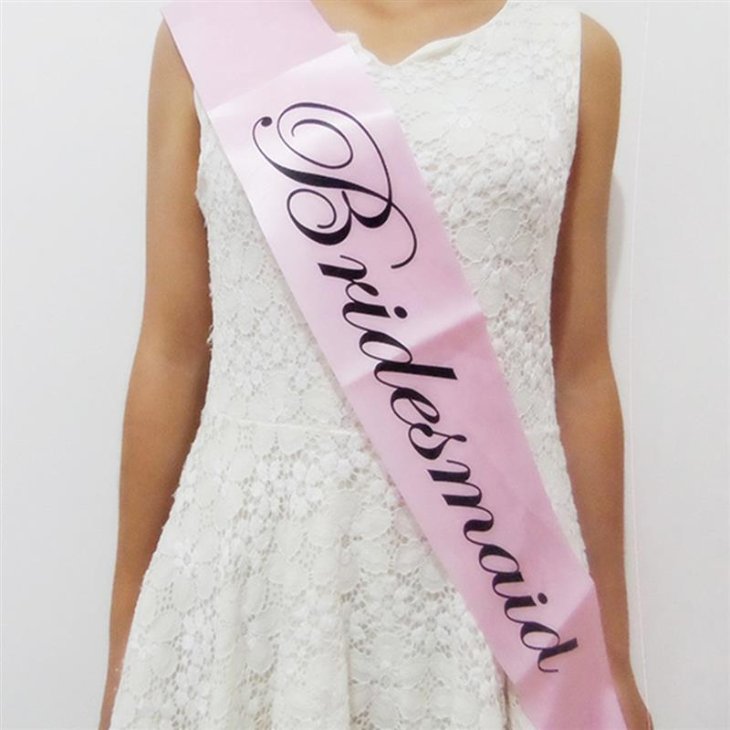 10 pcs Pink Bride To Be Sash Hen Party Bridal Shower Bachelorette Party  Sashes Girls Night Out Dressing Party Event Supplies-in Party DIY  Decorations from ... a2ed9904556b