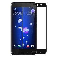 2 Pçs/lote Cobertura Completa Protetor de Tela Para HTC Película Protetora de Vidro Temperado Para HTC U11 U11 Cobertura Completa