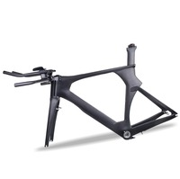 MIRACLE AERO 2020 OEM Carbon triathlon frame 700c Carbon bike frame 1 1/8 Steerer tube Di2 TT Bicycle frame