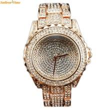 Newly Design Luxury women watches Lady Dress rhinestone crystal Quartz  Watch 160819 Drop Shipping
