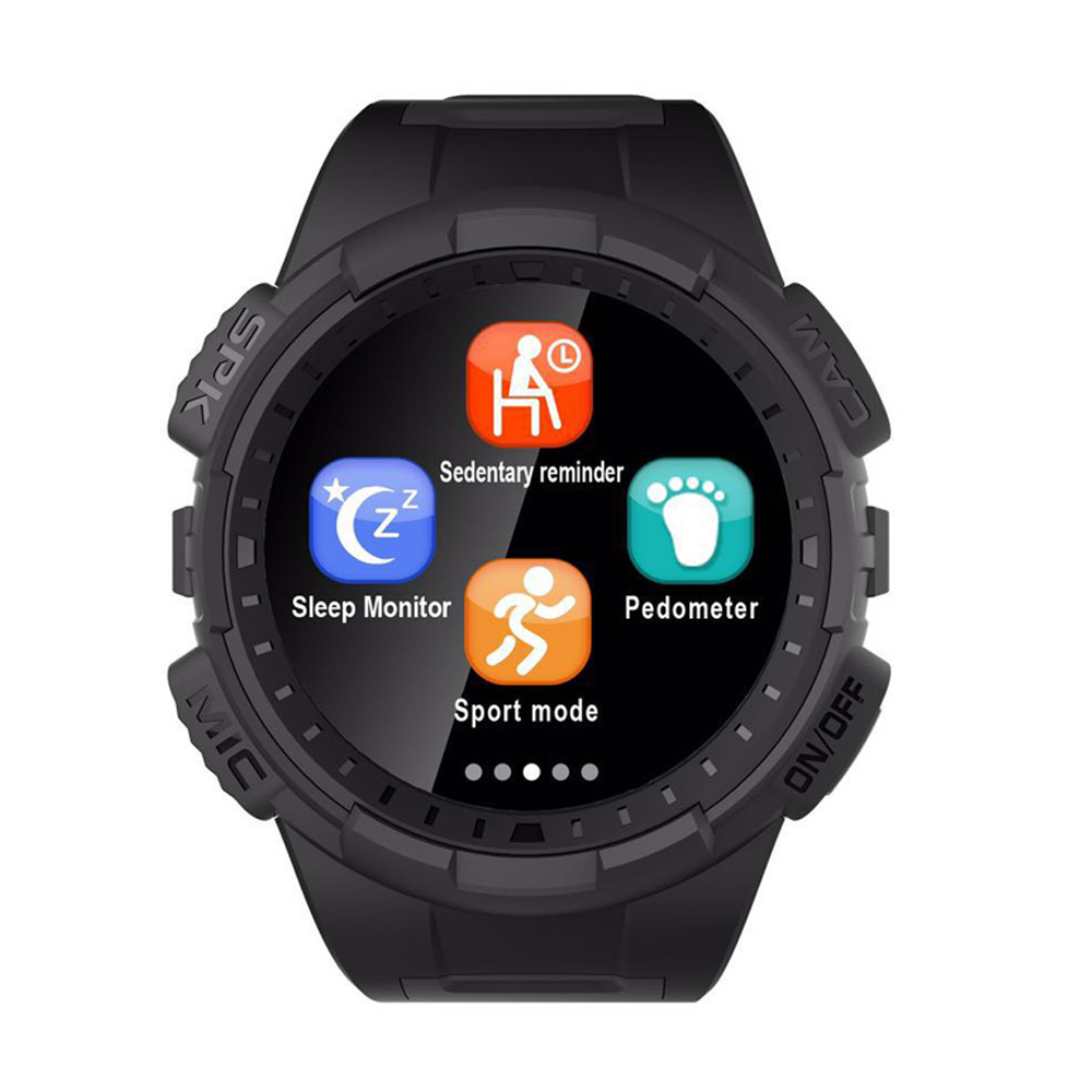 Camera Clock Smartwatch For Apple Android Phone Bluetooth Smart Watches with Full Round Screen GPS Outdoor Smart Wristwatches