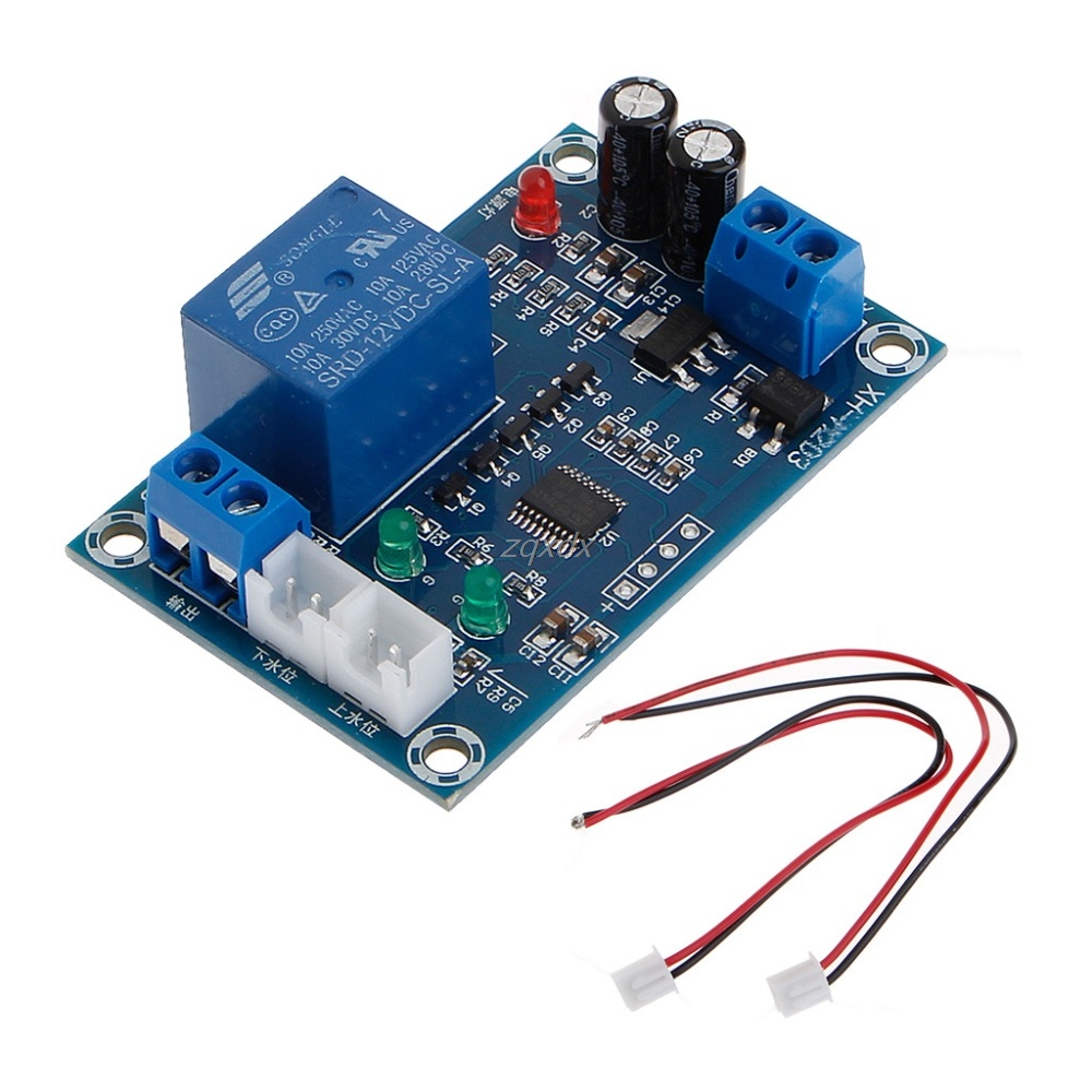 Xh M203 Full Automatic Water Level Controller Pump Switch Module Ac 12v Relay Datasheet Dc