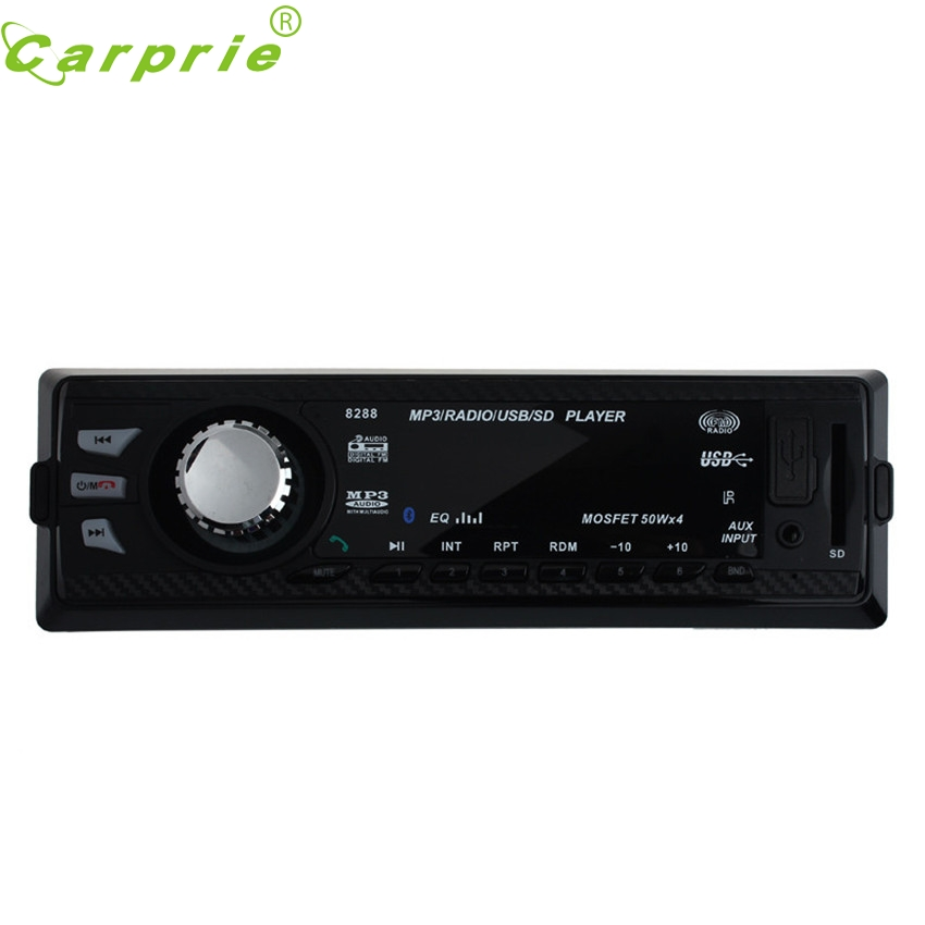 CARPRIE Super drop ship In Dash Car Audio Bluetooth Stereo Head Unit MP3/USB/SD/AUX/FM Input AUX Mar713