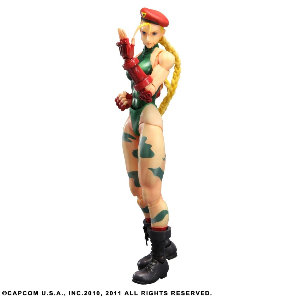 ФОТО Square Enix Street Fighter IV: Play Arts Kai: Cammy Action Figure New in box