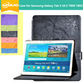 Original Case for Samsung Galaxy Tab S 10.5 T800 T805,Business Stand Tablet Leather Case Cover free shipping