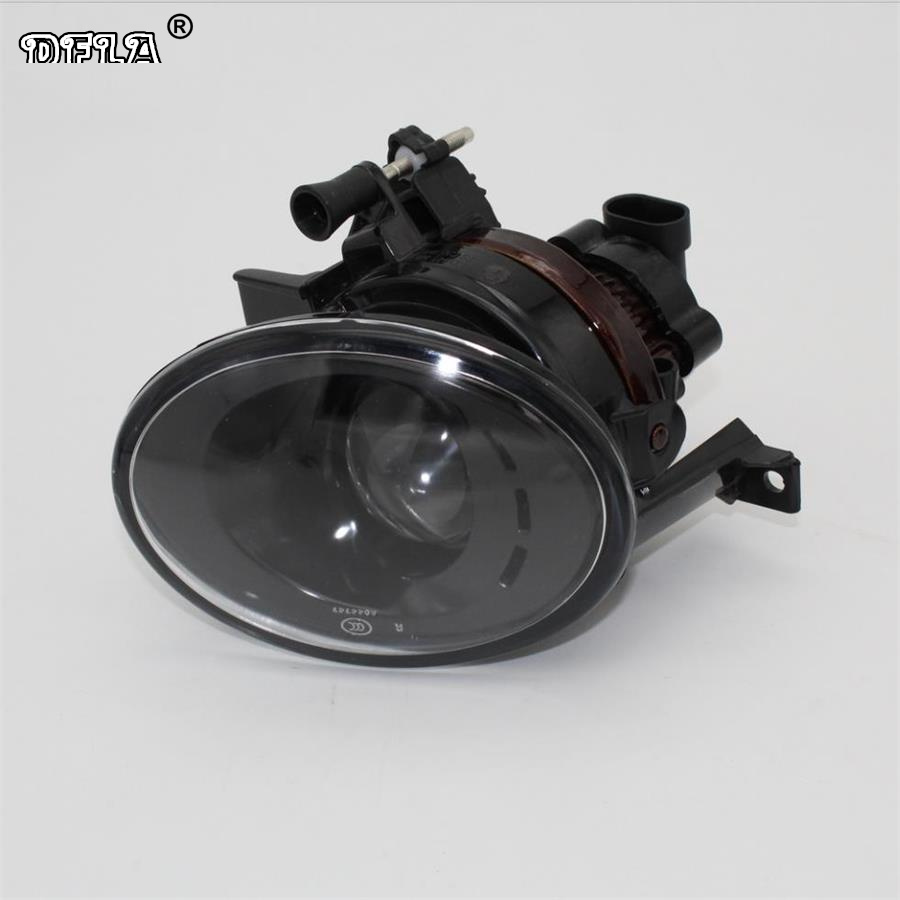 Right Side Car Light For VW Touran MK2 2011 2012 2013 2014 2015 Car-styling Front Fog Light Fog Lamp With Convex Lens right side for vw polo vento derby 2014 2015 2016 2017 front halogen fog light fog lamp assembly two holes