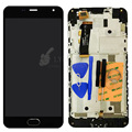 """Черный ЖК + TP + Рамка для Meizu М2 Мини 5.0 """"ЖК-Дисплей + Сенсорный Экран Digitizer Asssembly + рамка Замена Частей Бесплатная Доставка + Инструменты"""