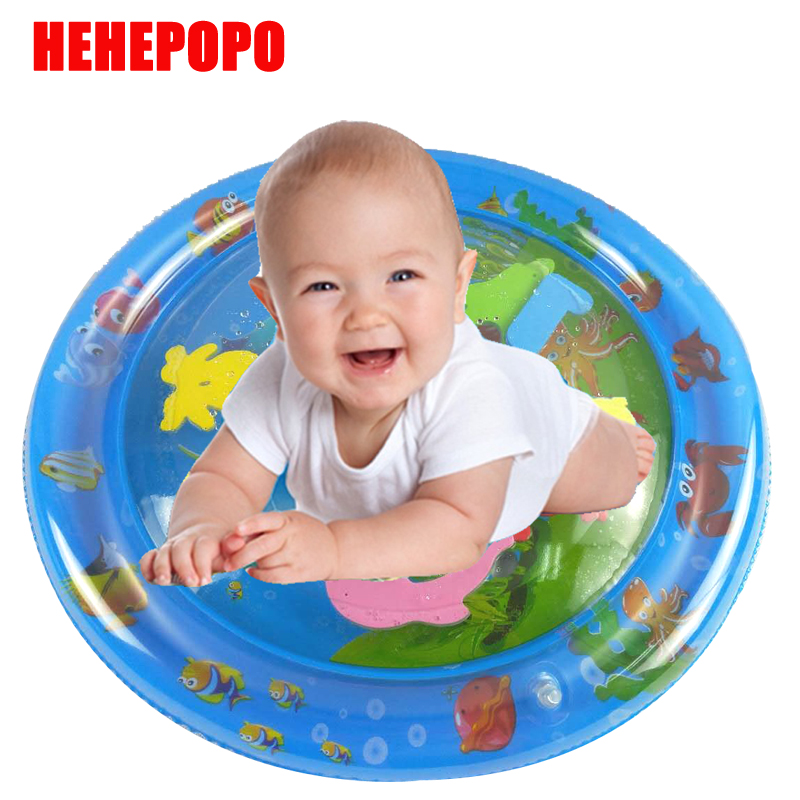 Factory Direct Sales 2019 Creative Dual Use Toys Baby Inflatable Patted Pad Baby Inflatable Water ICE Cushion Pat Pad