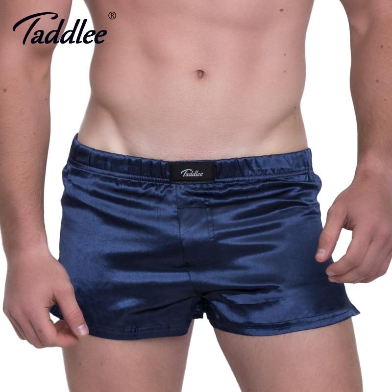 Taddlee מותג סקסי גברים של בוקסר מכנסיים - בגדי גברים