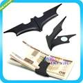 Mate Negro Batman Dinero Clip Magnético Plegable Titular de la Cartera de Tarjeta de Metal de Regalo de Navidad