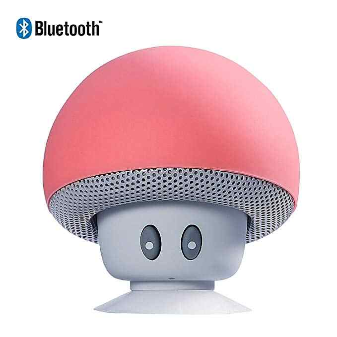 Draagbare Mini Speaker Draadloze Leuke Stereo Bluetooth Speaker Mushroom Bluetooth Speaker Super Bass Stereo Speaker Voor Telefoon Pc