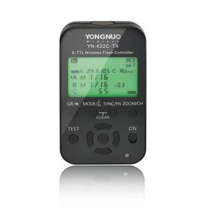 Image 2 - Yongnuo الارسال تحكم YN622C TX 2 قطعة YN622C E TLL فلاش لاسلكي الزناد جهاز الإرسال والاستقبال لكانون YN685 YN600EX RT الثاني