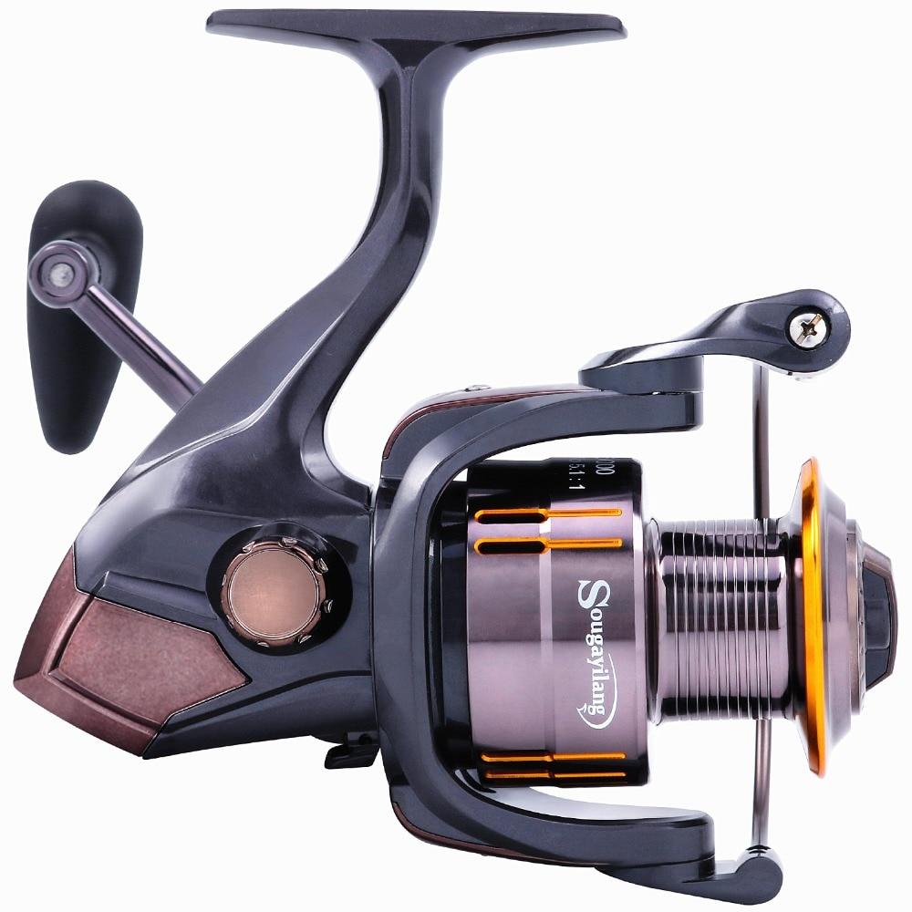 Sougayilang Spinning Fishing Reel Ultra Smooth 13 + 1BB könnyű - Halászat