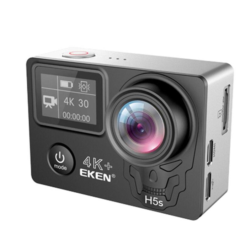 Caméra d'action Wifi EKEN A12 Ultra H5S Plus 4K 30FPS 30M étanche 1080p go EIS stabilisation d'image H5Splus 12MP pro sport cam
