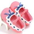 Newborn Baby Girl Shoes BrandToddler kidadndy Tela Zapatitos de Bebé Infantil Diadema Set, Andador Primeros Caminante Zapato LMY03