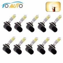 10PCS 881 894 H27 Halogen Bulbs 27W fog lamps light 12V Car Light Source Yellow Amber